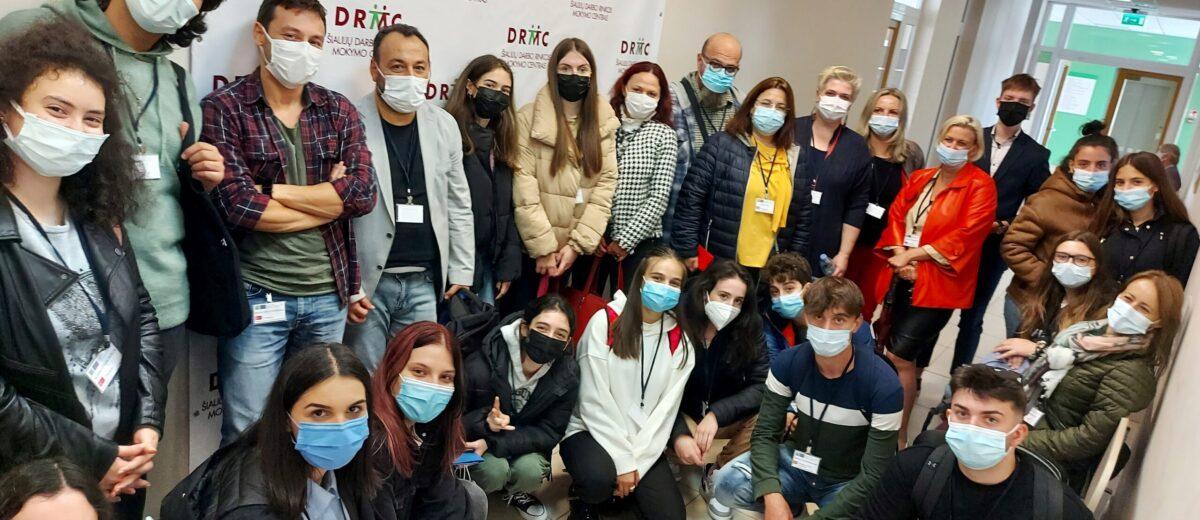 Jaunimo grupės iš užsienio šalių vizitas Mažeikiuose