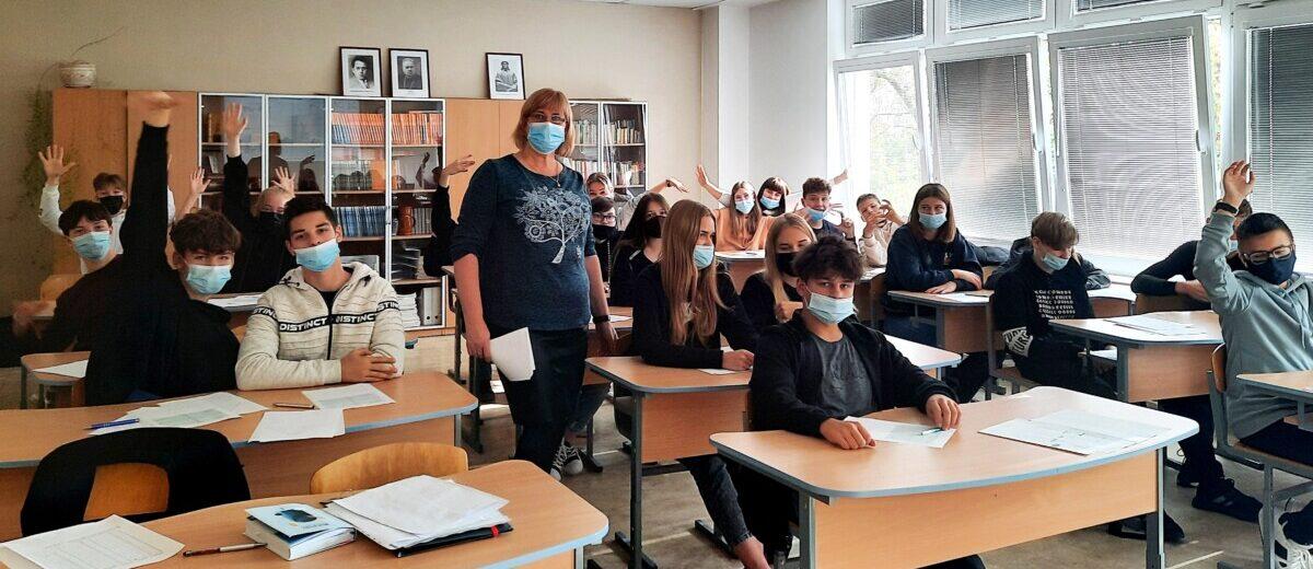 Gimnazijose pradedama įgyvendinti Geros savijautos programa